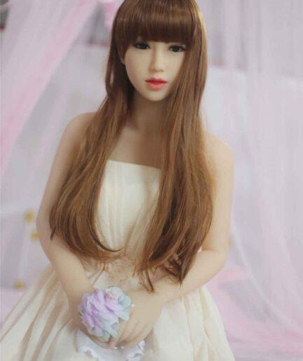 Blonde Japanese Fuck Doll