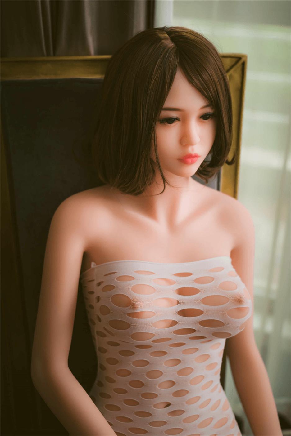 Sex Doll Wearing Sexy Mesh Underwear
