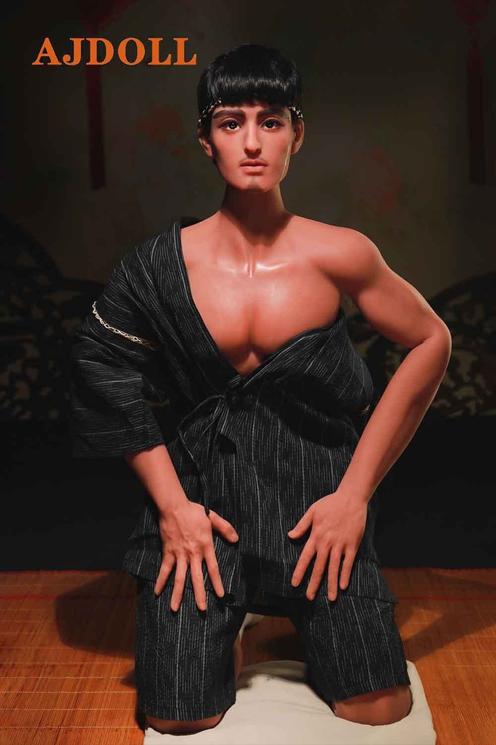 Japanese Samurai Gay Male Sex Doll