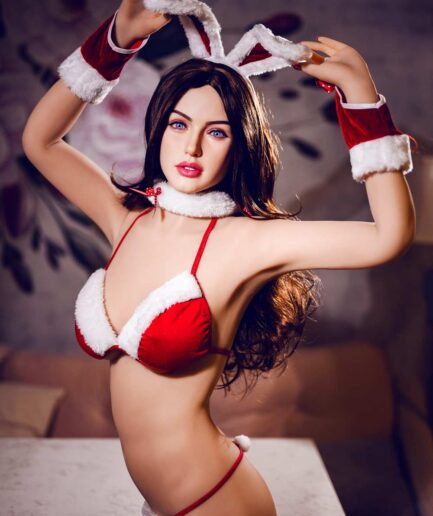 Red Bunny Platinum Silicone Sex Doll