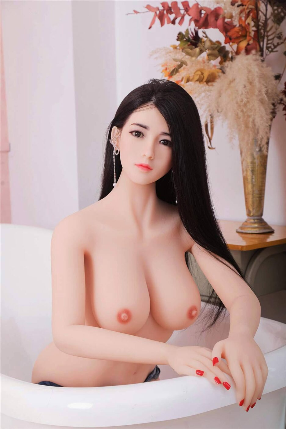 White-skin-silicone-sex-doll