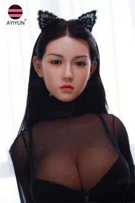 silicone head sex doll