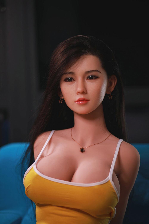 Black sex doll with big eyes