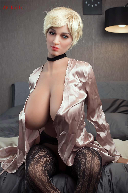 Short Hair Mature Sex Doll