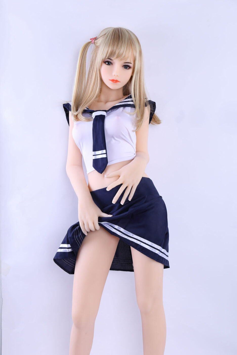 mini sex doll with flip flop skirt