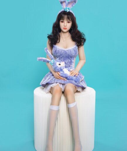 Asian anime sex doll sitting