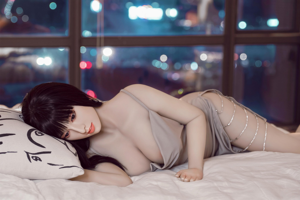 Chinese sex doll sleeping