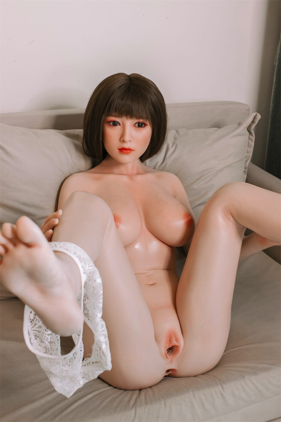 japanese sweet sex doll with vagina and anus